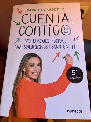 """Libro """"Cuenta contigo"""" de Patricia Ramírez"""