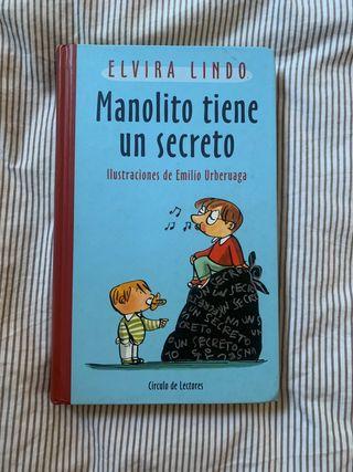 "LIBRO ""Manolito tiene un secreto"""