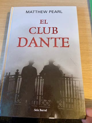 """Libro """"El club Dante"""" de Matthew Pearl"""