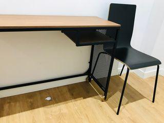 Mesa + silla IKEA
