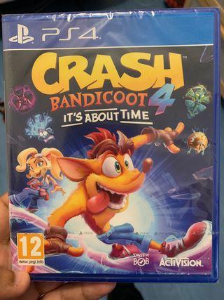 Crash Bandicoot 4 precintado
