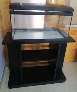 acuario 50lts con mueble