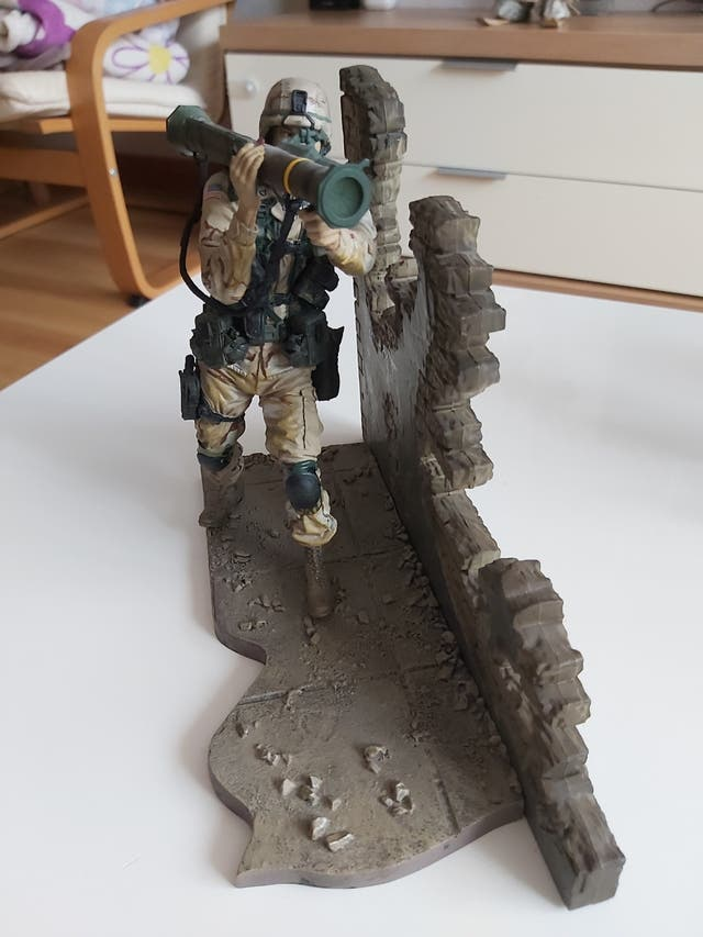 Figura militar MC Farlane , serie 1