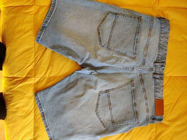 Pantalón vaquero corto Cortefiel