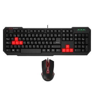 Kit teclado y raton gaming basico