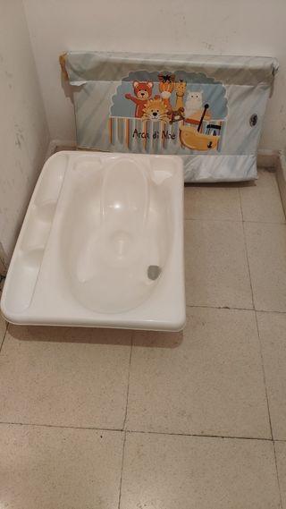 Bañera cambiador de Cam