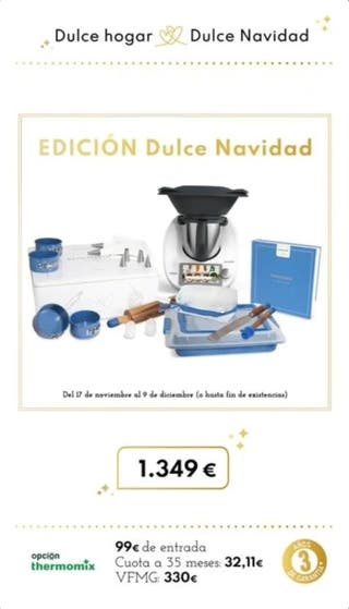 Se vende thermomix