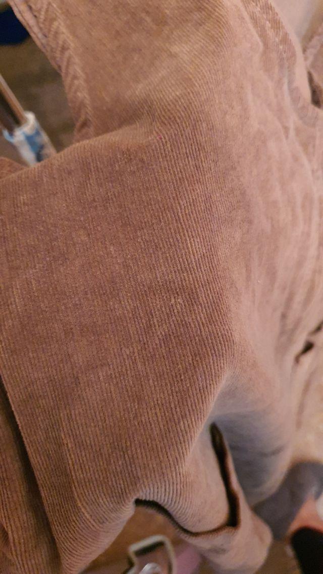 Mono/Peto de pana