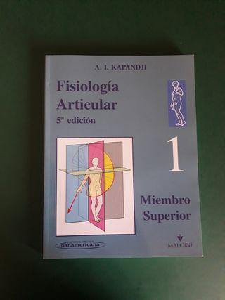 Fisiología articular. 3 tomos