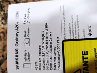 SAMSUNG GALAXY A20 100€/UNIDAD