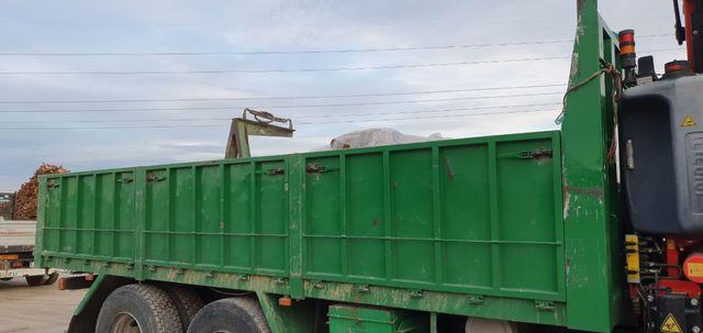 caja abierta para camión