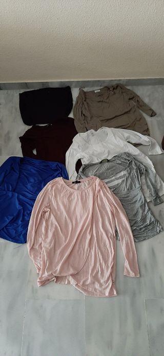lote camisetas premamá 40