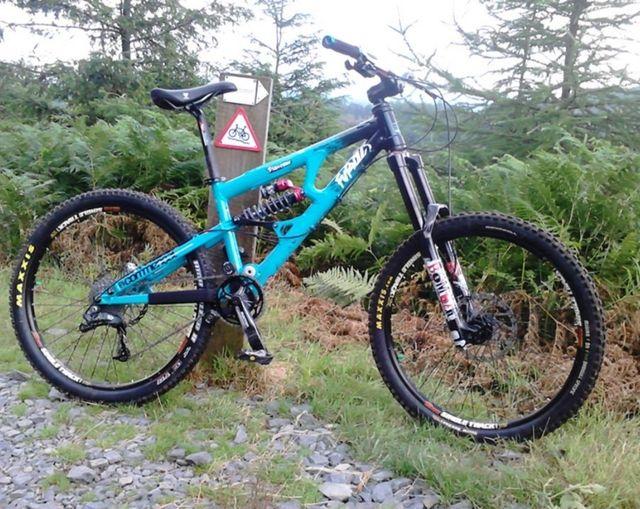 bicicleta de montaña commencal furious dh