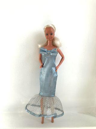 Vestido Barbie años 80