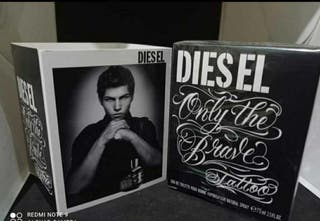 Diesel only the brave tatto