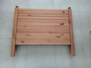 Cama Ikea extensible para niño