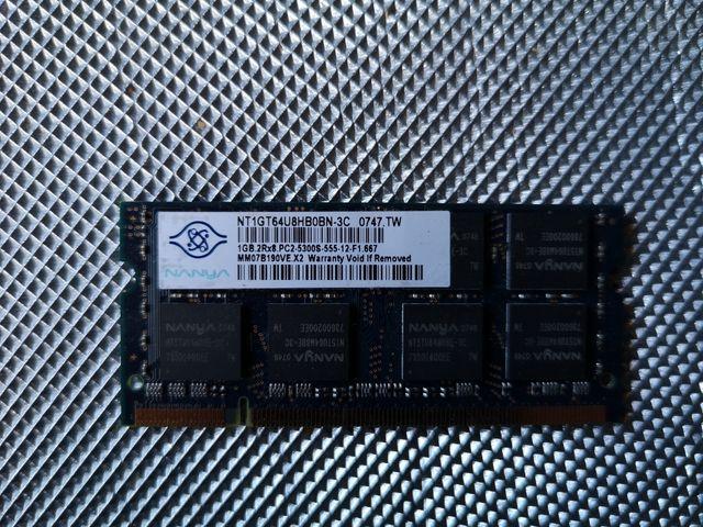 MEMORIA RAM PORTATIL 2GB