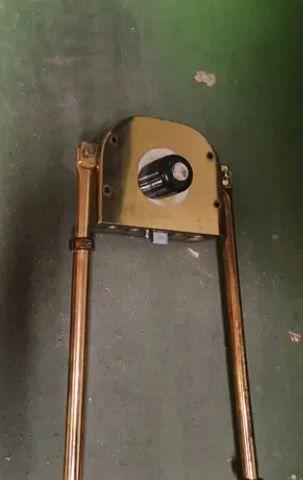 Cerradura de barras verticales
