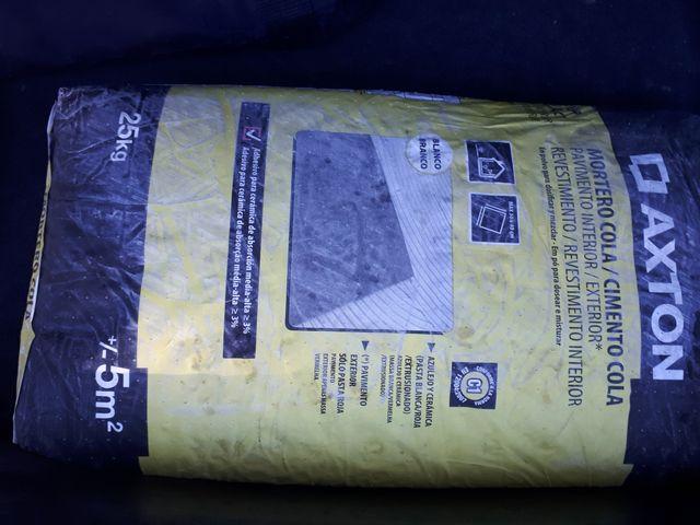 Regalo saco de cemento-cola de 25 kg