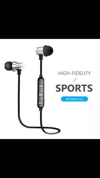 Auriculares bluetooth deportivos con micrófono