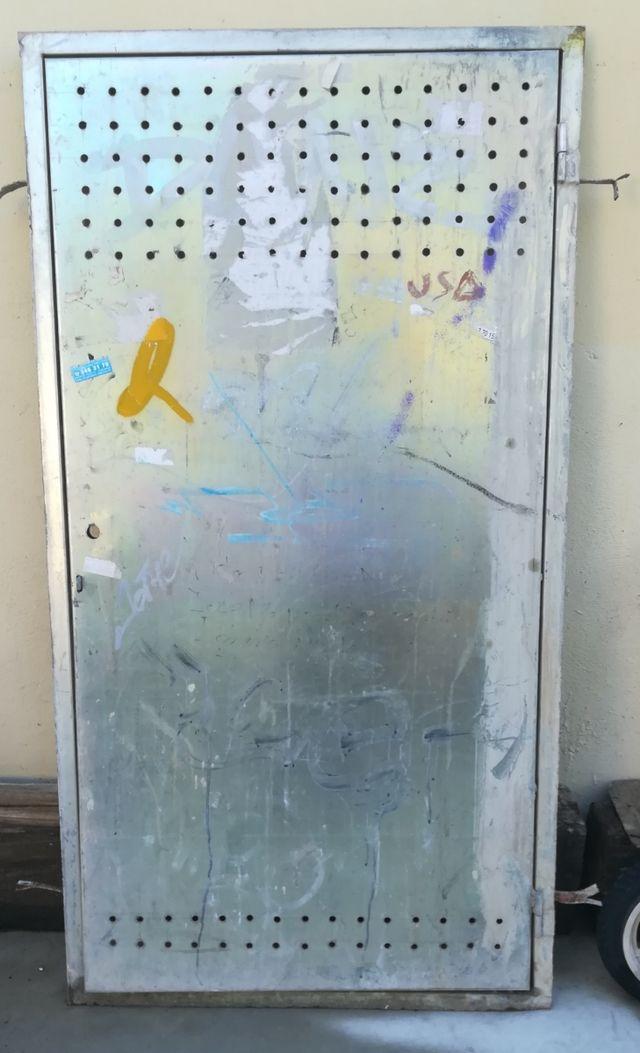 Puerta galvanizada, 1,40 x70