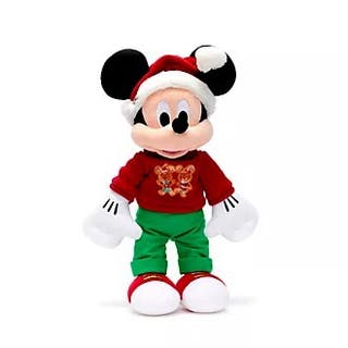 Peluche mediano Disney Mickey Mouse Holiday 2020