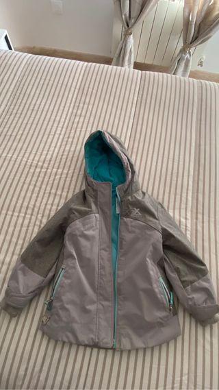 Abrigo invierno Unisex talla 5-6
