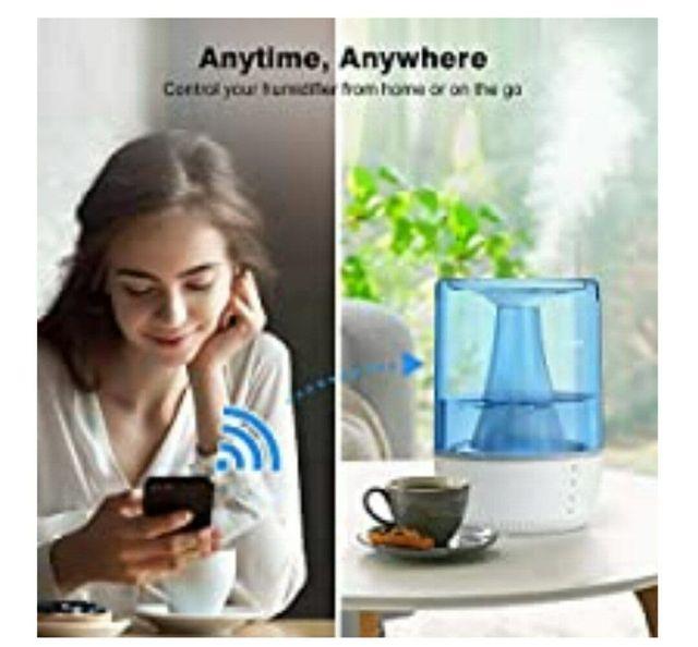 Humidificador (NUEVO) con wifi y temporizador