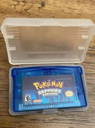 Pokemon zafiro Game boy