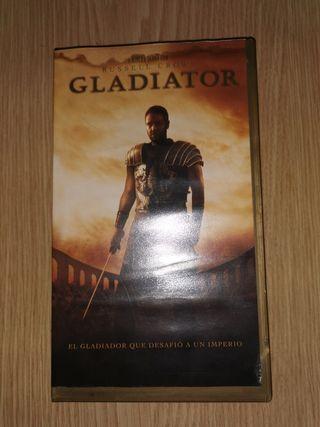 GLADIATOR en VHS