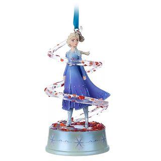Adorno ornamento Elsa Frozen II Disney Store 2020
