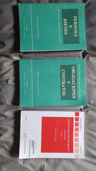 Pack libros Derecho