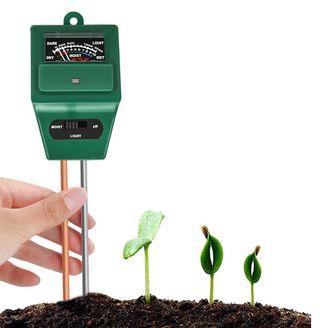 Probador humedad tierra/ valor pH /nivel luz solar