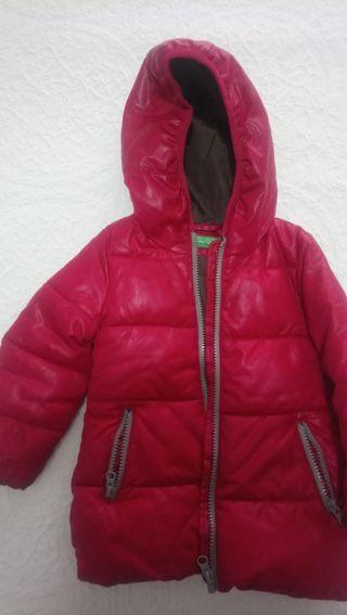 Abrigo rosa de Benetton