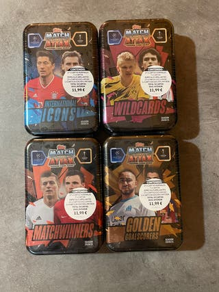 Latas match attax 2020-21 Champions