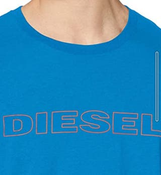 camiseta diesel a estrenar