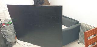 cabecero color wengue,del ikea, media 1.60cm,urge