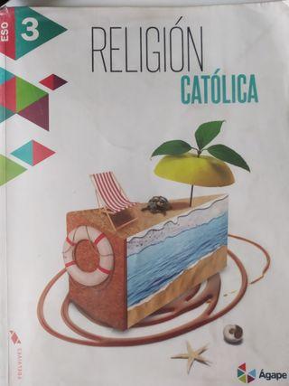 Libro religión católica edelvives 3°ESO