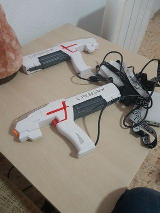 pistolas laser