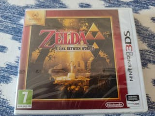 the Legend of zelda 3DS precintado