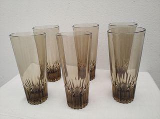 6 vasos Vintage 60's