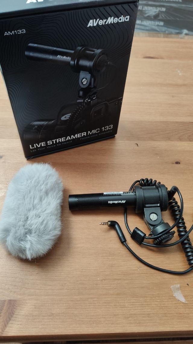 Microfono AVERMEDIA nuevo
