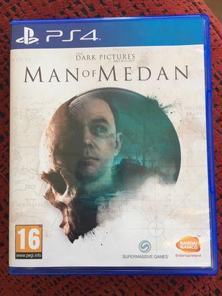Man of Medan de PS4