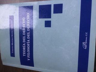 Teoría del derecho y filosofía del derecho.