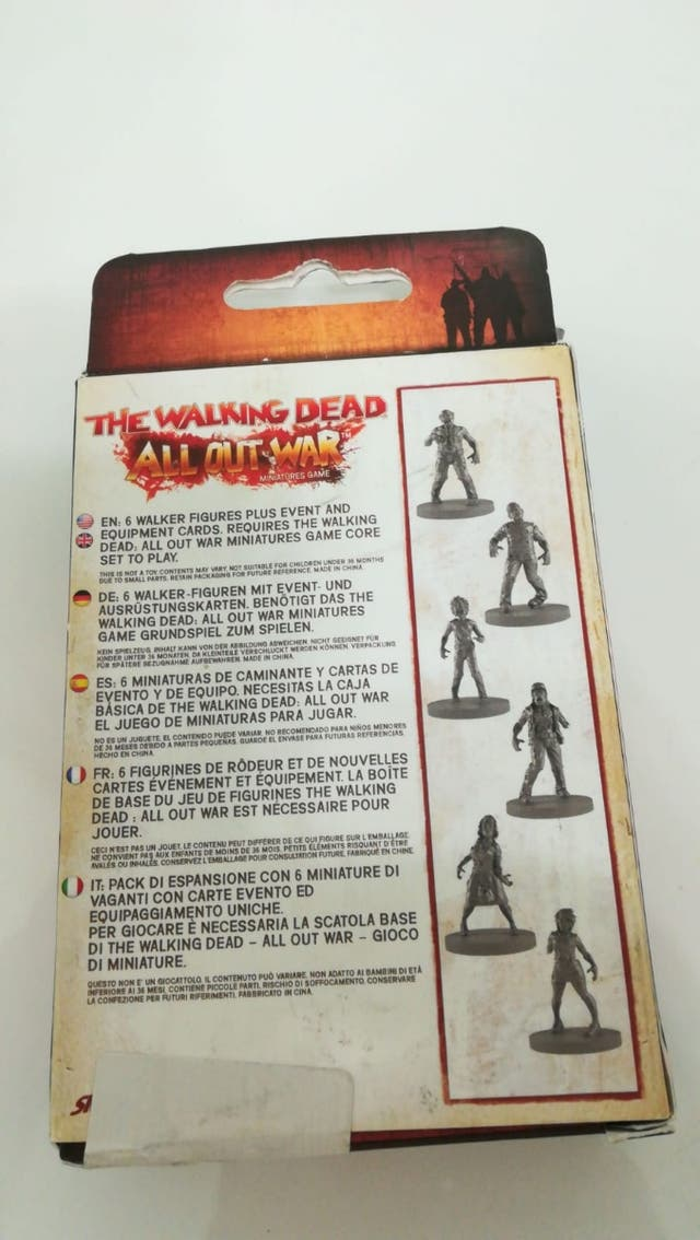 Walker Booster Walking Dead : All Out War Nuevo