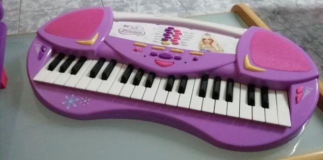 teclado barbie