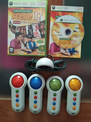 SCENE-IT Xbox 360 mandos inalambricos