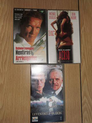 VHS. Películas