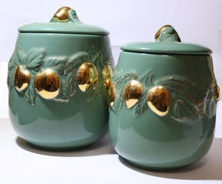 Set Ceramica Bomboneras
