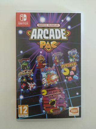 Juego Namco Museum Arcade Pac Nintendo switch